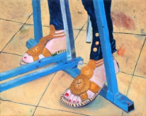 Toe Jammin' aka Feet of Oil