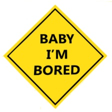 Baby I'm Bored ~ Philip Brent
