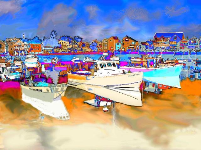 Preternatural Harbor ~ Philip Brent