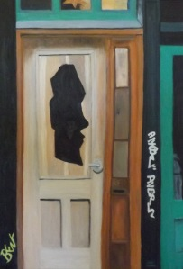 The Face in the Door ~ Brent Harris