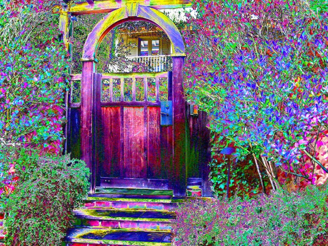 Open the Gate ~ Philip Brent