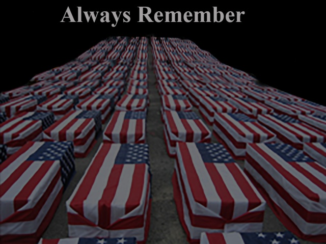 Always Remember ~ Image from la.indymedia.org ~ Modified by Philip Brent