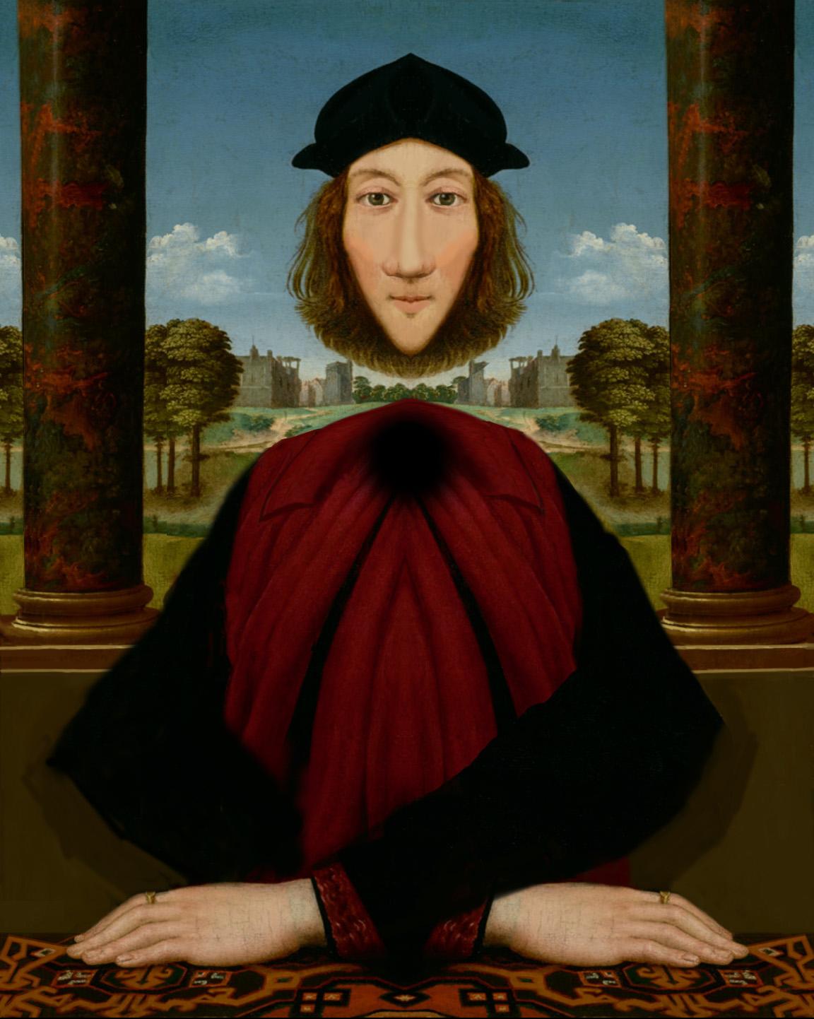 World Famous Floating Head Illusion ~ Philip Brent Harris