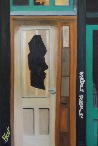 Face in the Door ~ Philip Brent Harris