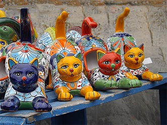 Cats on a Ledge ~ Philp Brent Harris